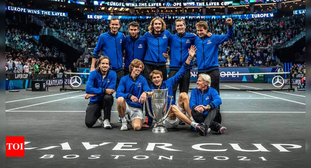 Team Europe win fourth consecutive Laver Cup | Tennis News – Times of India