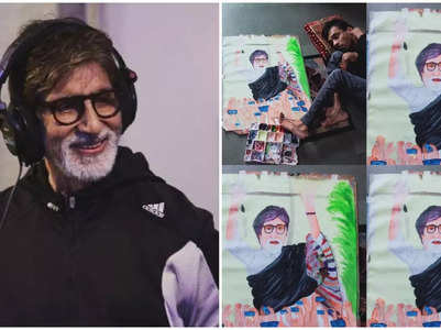 Big B praises a differently-abled fan