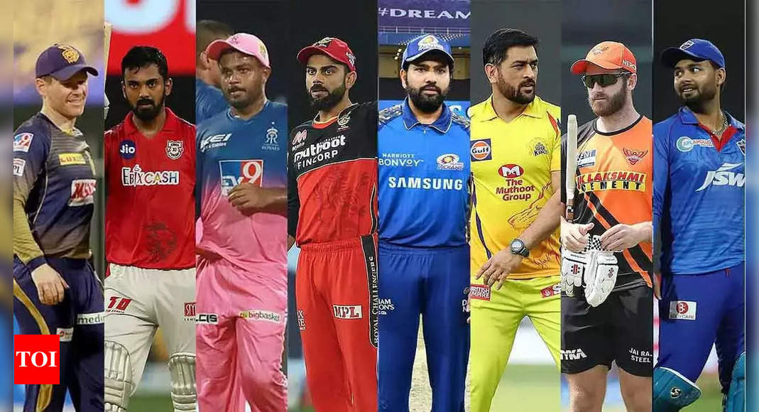IPL 2021: All playoff possibilities for the 8 teams in 10 points | Cricket News – Times of India