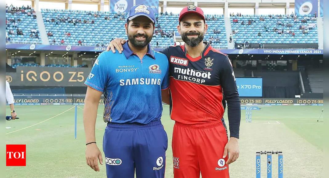 IPL 2021: Who said what after Virat Kohli's RCB beat Rohit Sharma's MI   Cricket News – Times of India