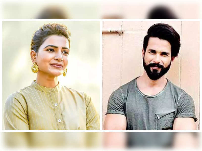 Shahid Kapoor expresses his desire to work with Samantha Akkineni, says he loved her in 'The Family man 2'