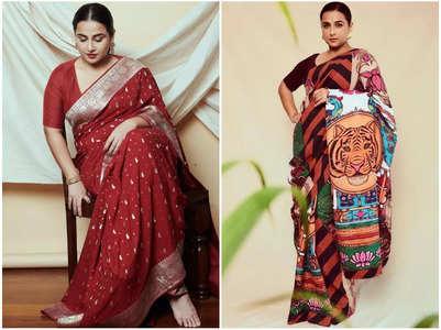 Vidya Balan's envious collection of sarees