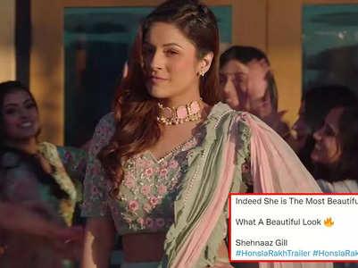 Twitter reacts to Shehnaaz's Honsla Rakh