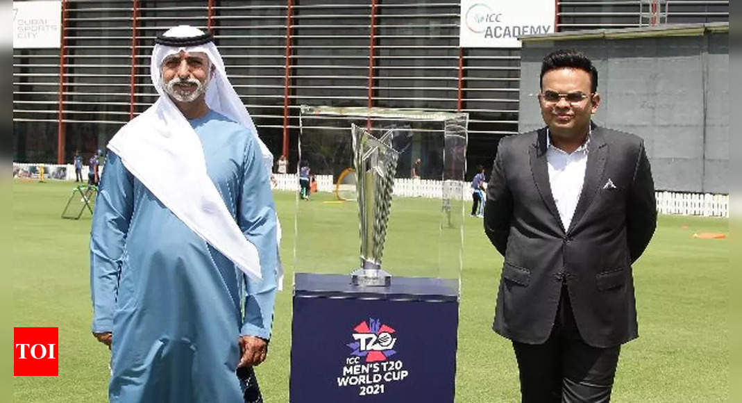 ICC T20 World Cup: BCCI and ECB seek permission from UAE authorities to have capacity crowd for final | Cricket News – Times of India
