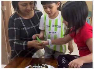 Swwapnil's B'day wish for wifeLeena
