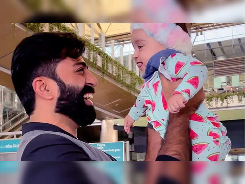 Govind Padmasoorya meets Pearle's daughter Nila for the first time