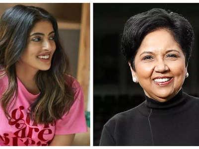 Indra Nooyi is all praise for Navya Nanda