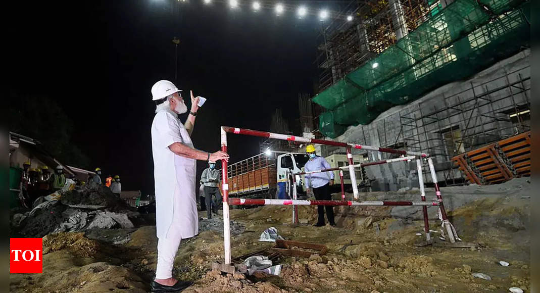 PM Modi's visit to Central Vista project site 'thoughtless, insensitive' gesture: Congress