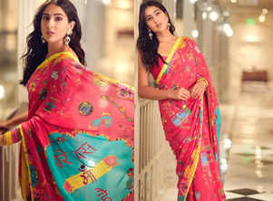 Sara Ali Khan's quirkiest sari ever