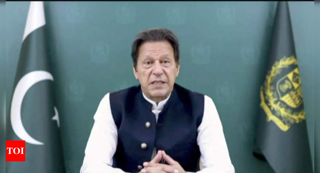 Important to incentivise Taliban so that they fulfil promises, says Pakistan PM Imran Khan – Times of India