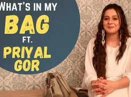 What's in my bag: Priyal Gor reveals she does not care about brand labels