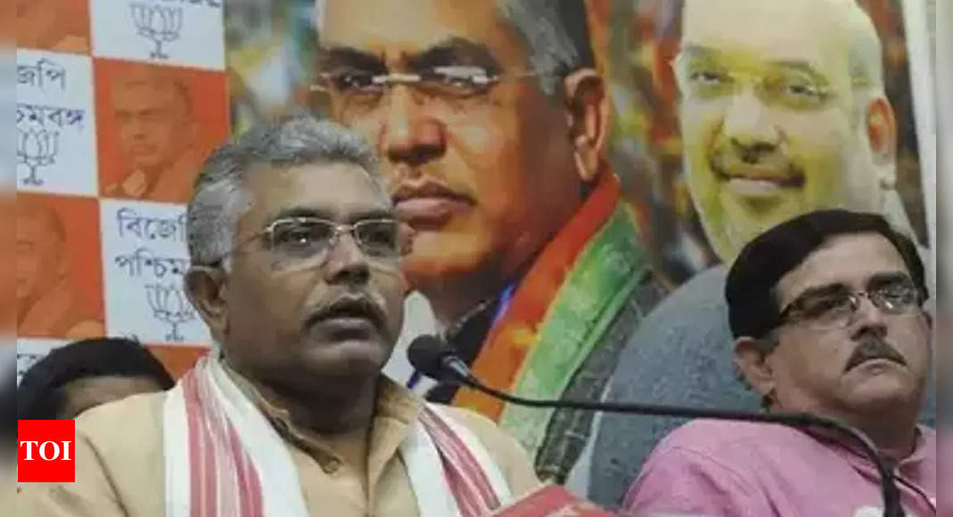 ghosh:   BJP claims attack on Dilip on Didi turf, EC seeks report | India News – Times of India