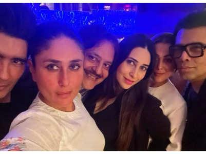 Bebo parties with Lolo, KJo, Amrita & others