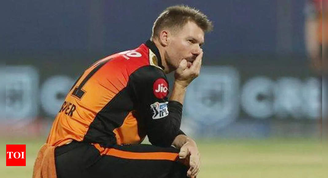 IPL 2021: David Warner unlikely to play remaining games for Sunrisers Hyderabad | Cricket News – Times of India