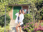 Suhana Khan oozes glamour in a strapless, short red dress in these new party pictures with friends