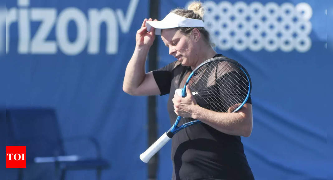 Kim Clijsters suffers first-round exit in latest comeback match | Tennis News – Times of India