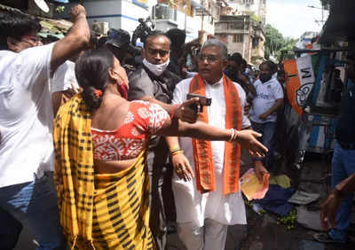 Dilip Ghosh demands suspension of Bhabanipur bypoll after 'attack by TMC'