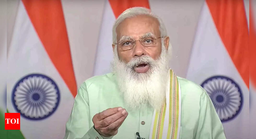 PM Modi dedicates 35 crop varieties with special traits to nation
