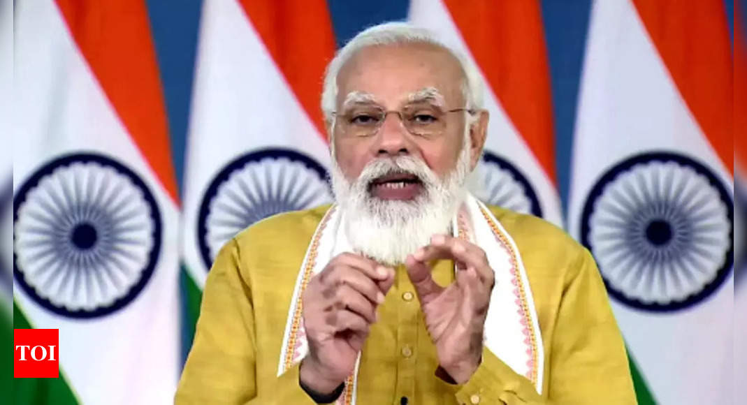 PM Modi launches 35 crop varieties with special traits to address climate change, malnutrition
