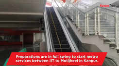 Construction work at Metro stations in full swing in Kanpur