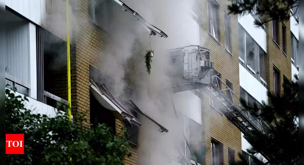 'Over 20 people hospitalized after explosion in Sweden's Gothenburg'