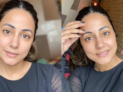 Hina shares a no-makeup, no-filter selfie
