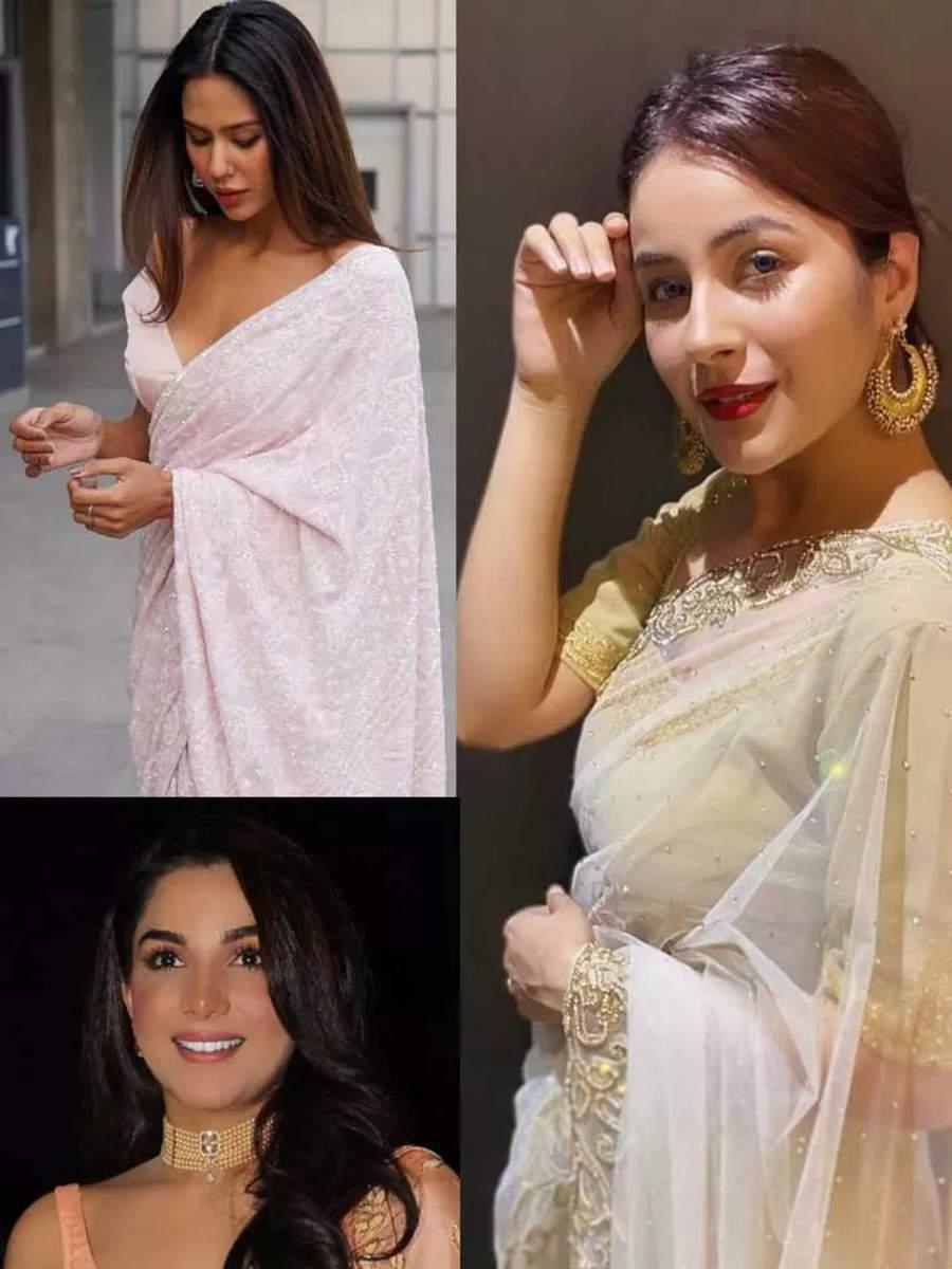 Punjabi divas who gave us saree goals