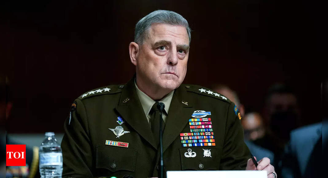 Top US general says Trump never intended to attack China thumbnail