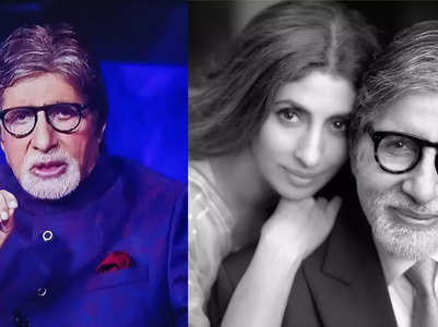 KBC13: Big B reveals Shweta's scared of injections