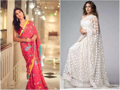 FIVE times Sara Ali Khan stunned in a saree