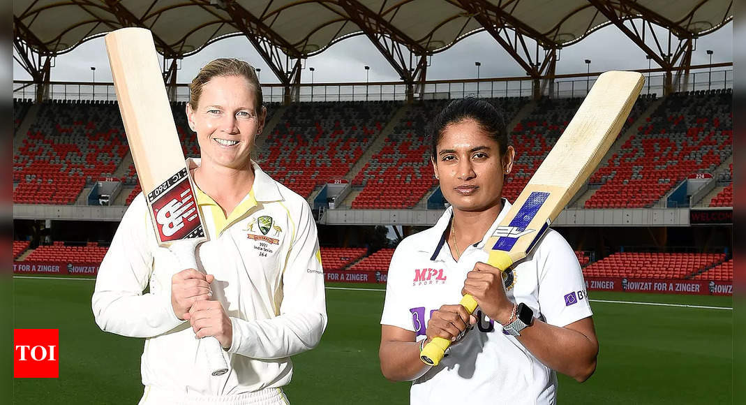 India, Australia renew Test rivalry after 15 years with landmark day-nighter | Cricket News – Times of India