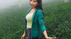 Sakshi Agarwal did ziplining in Nilgiris