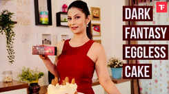 Watch: How to make Dark Fantasy Eggless Cake