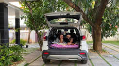 You can live out of your car while travelling