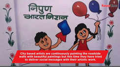 These wall arts are giving social messages to Kanpurites