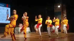 A mesmerizing cultural event by students in Prayagraj