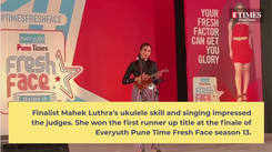 Mahek Luthra's performance won her the first runner up title