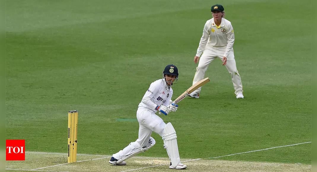 Pink Ball Test: India reach 114/1 against Australia as rain stops play | Cricket News – Times of India