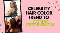 Celebrity hair colour trend to try this festive season
