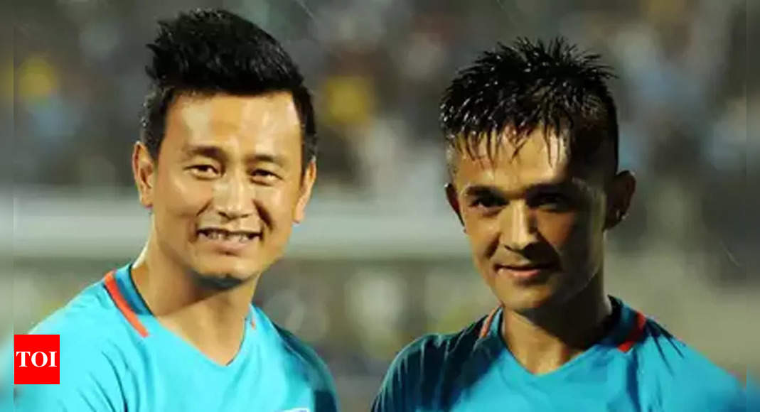 Shared best on-field relationship with Bhaichung da, Jeje: Sunil Chhetri   Football News – Times of India