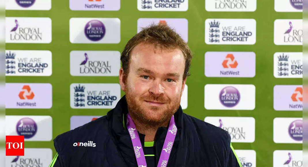 Loved watching Virender Sehwag bat: Paul Stirling   Cricket News – Times of India
