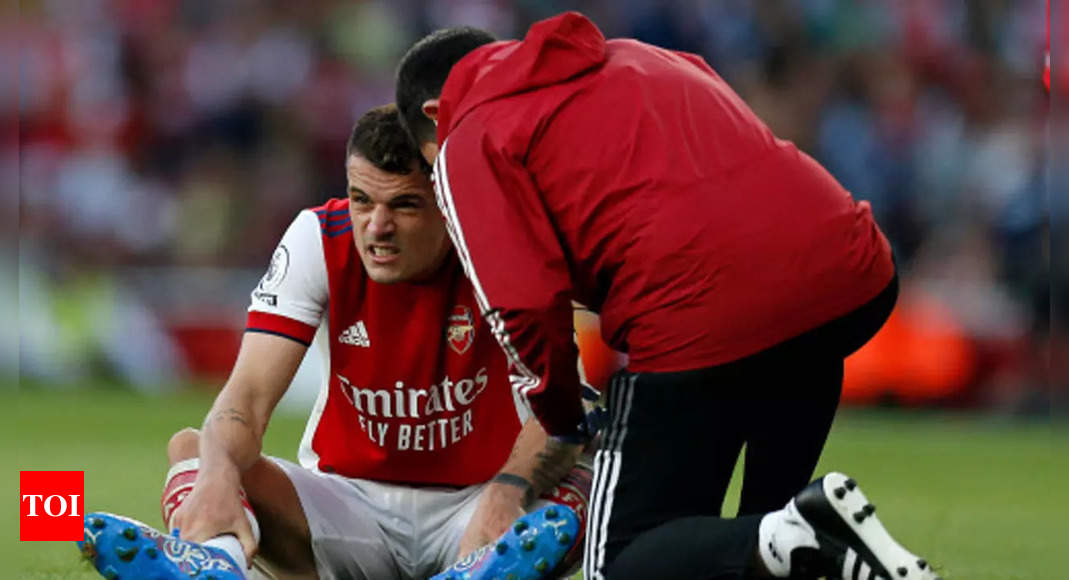 Xhaka injury could have been much worse, says Arsenal's Arteta   Football News – Times of India