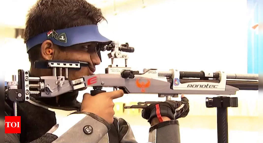 Rudrankksh Patil wins silver in ISSF junior world championships   More sports News – Times of India