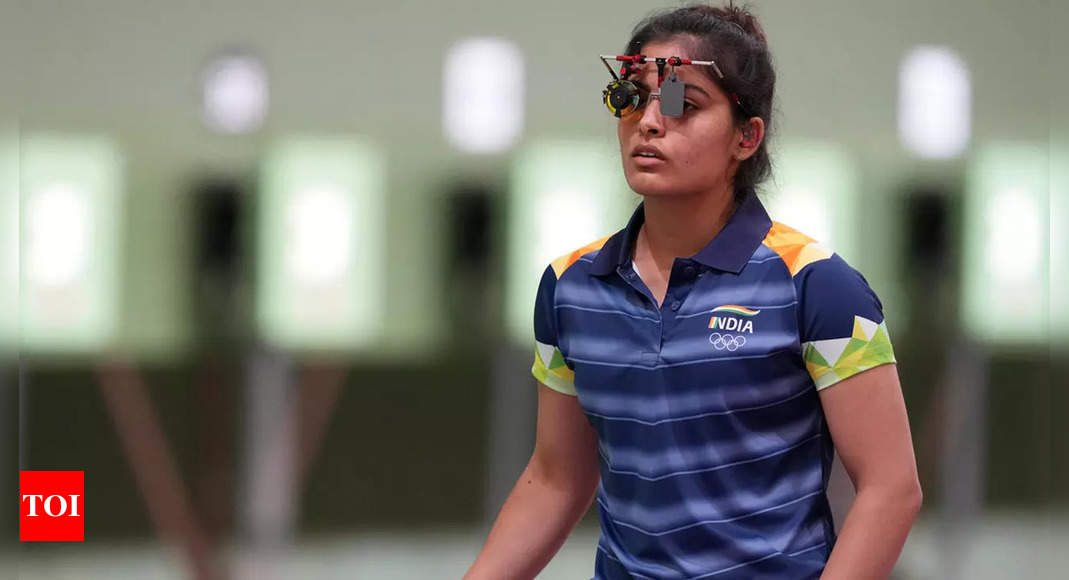 Manu Bhaker wins 10m air pistol gold, Esha Singh silver in ISSF Junior World Championships   More sports News – Times of India