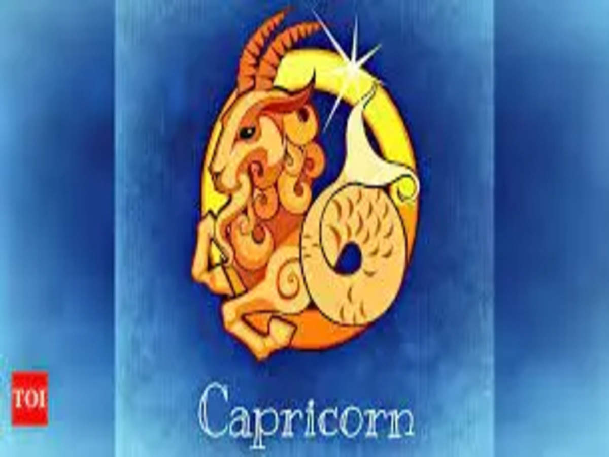 Capricorn Monthly Horoscope October 20   Times of India