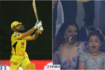 IPL 2021: Ziva Dhoni's epic reaction post MS Dhoni's winning six in CSK vs SRH match is unmissable! See photos