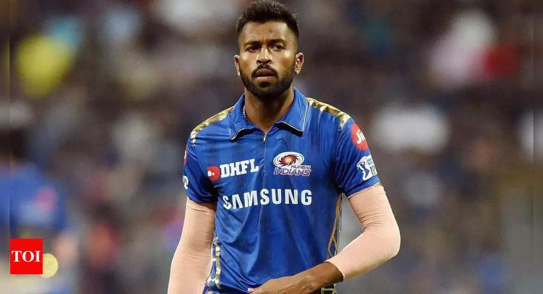 Jayawardene: Hardik Pandya might struggle if pushed to bowl, says MI coach Jayawardene   Cricket News – Times of India