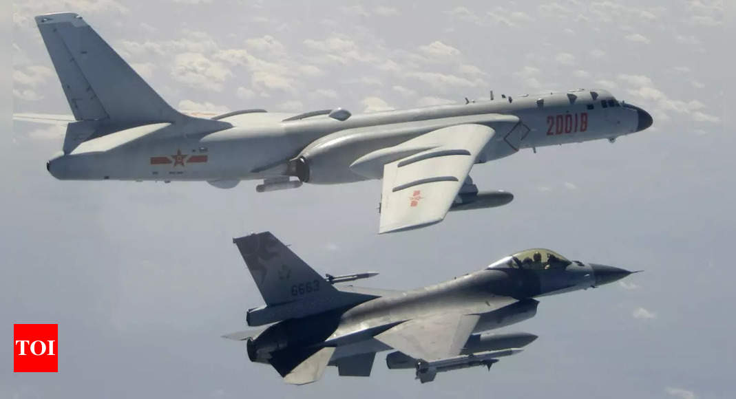 , China sends 25 fighter planes toward Taiwan on National Day, The World Live Breaking News Coverage & Updates IN ENGLISH