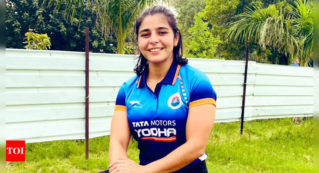 Young Indian wrestlers face stiff test at Worlds, expectations high from Anshu, Sarita   More sports News – Times of India