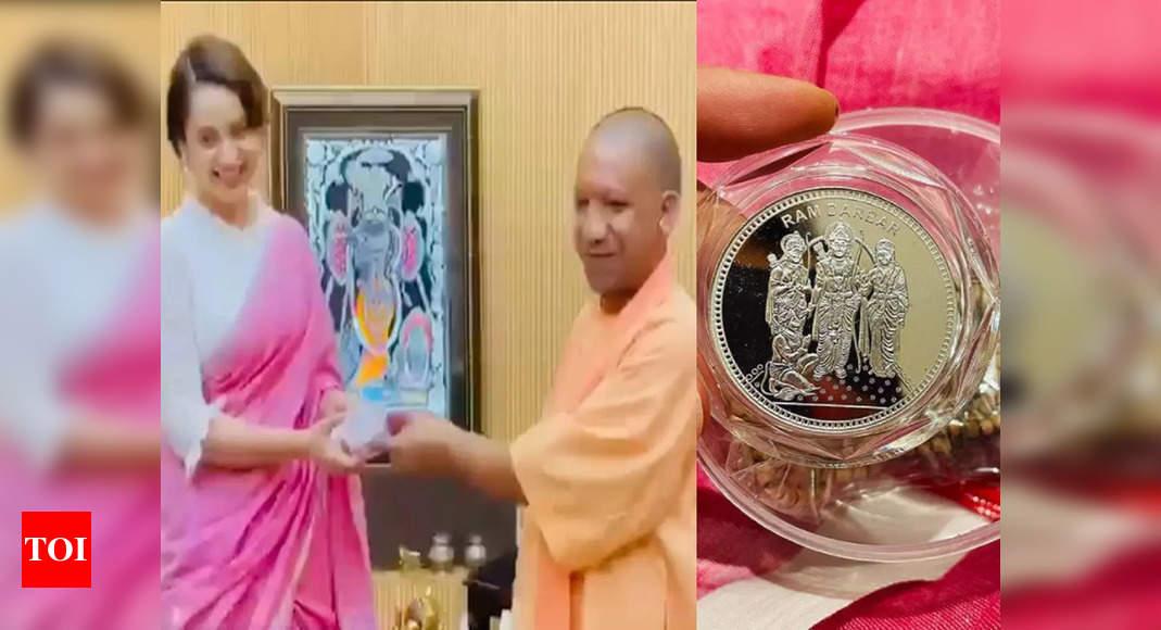, Kangana Ranaut meets UP CM Yogi Adityanath, The World Live Breaking News Coverage & Updates IN ENGLISH